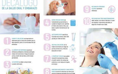 Campaña #BocaSanaEnElEmbarazo y 10 consejos imprescindibles